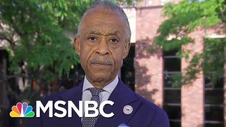 Rev. Al Sharpton: 'This Is The Time We Can Make Real Change' | Stephanie Ruhle | MSNBC 1