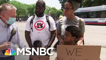 'Very Peaceful' Protesters Gathering In Washington, DC | MSNBC 6