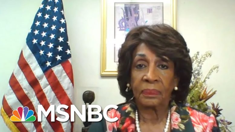 'Dictator': See Top Dem Maxine Waters Confront Trump's 'Racism,' Drawing Line From LA Riots To Today 1