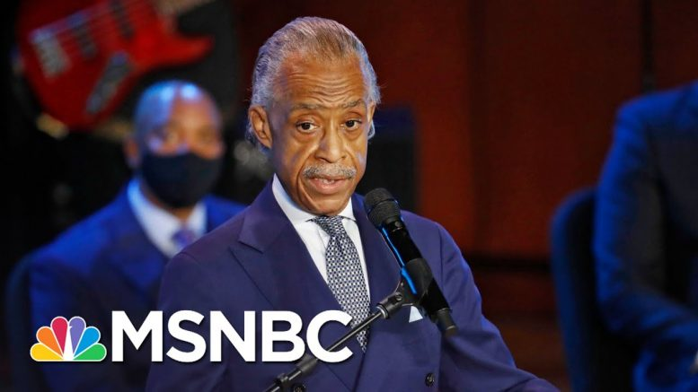 Al Sharpton: 'It's Time To Stand Up In George's Name And Say 'Get Your knee Off Our Necks'' | MSNBC 1