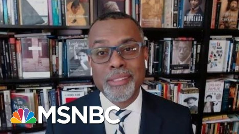 Eddie Glaude: 'I'm Tired, I'm Weak, I'm Worn… Then I'm Hopeful' | Deadline | MSNBC 1