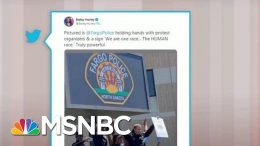 Police Join Protesters In Demonstrations Across U.S. | Morning Joe | MSNBC 3