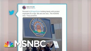 Police Join Protesters In Demonstrations Across U.S. | Morning Joe | MSNBC 10