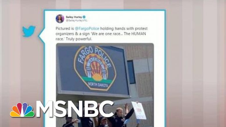 Police Join Protesters In Demonstrations Across U.S. | Morning Joe | MSNBC 1