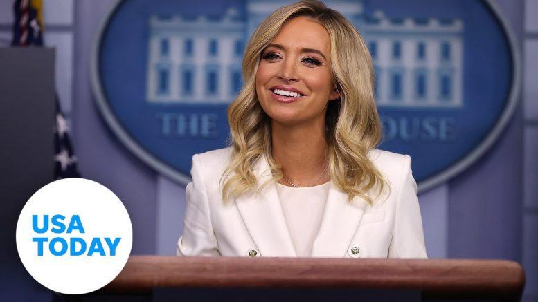 Press Secretary Kayleigh McEnany Holds a Briefing I USA TODAY 1