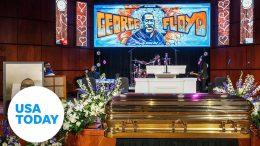 George Floyd's memorial service held in Minneapolis | USA TODAY 7