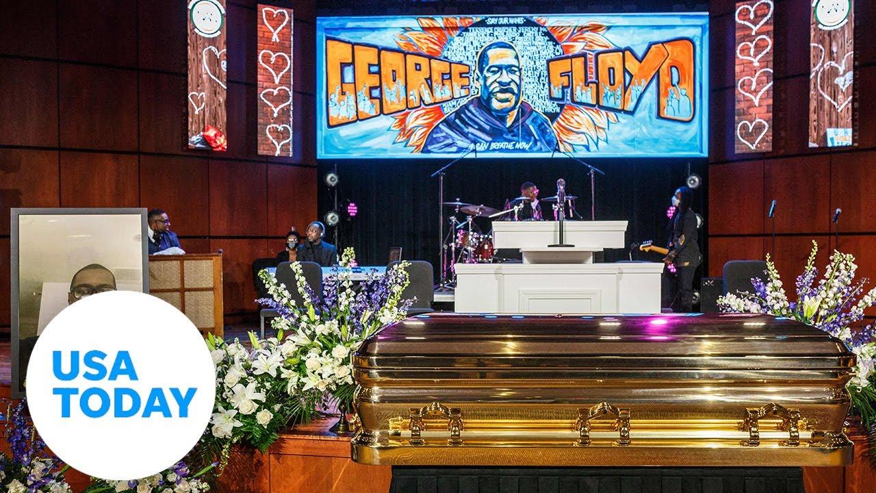 George Floyd's memorial service held in Minneapolis | USA TODAY 9