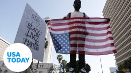 Demonstrations continue on Thursday across the country over George Floyd's death | USA TODAY 1