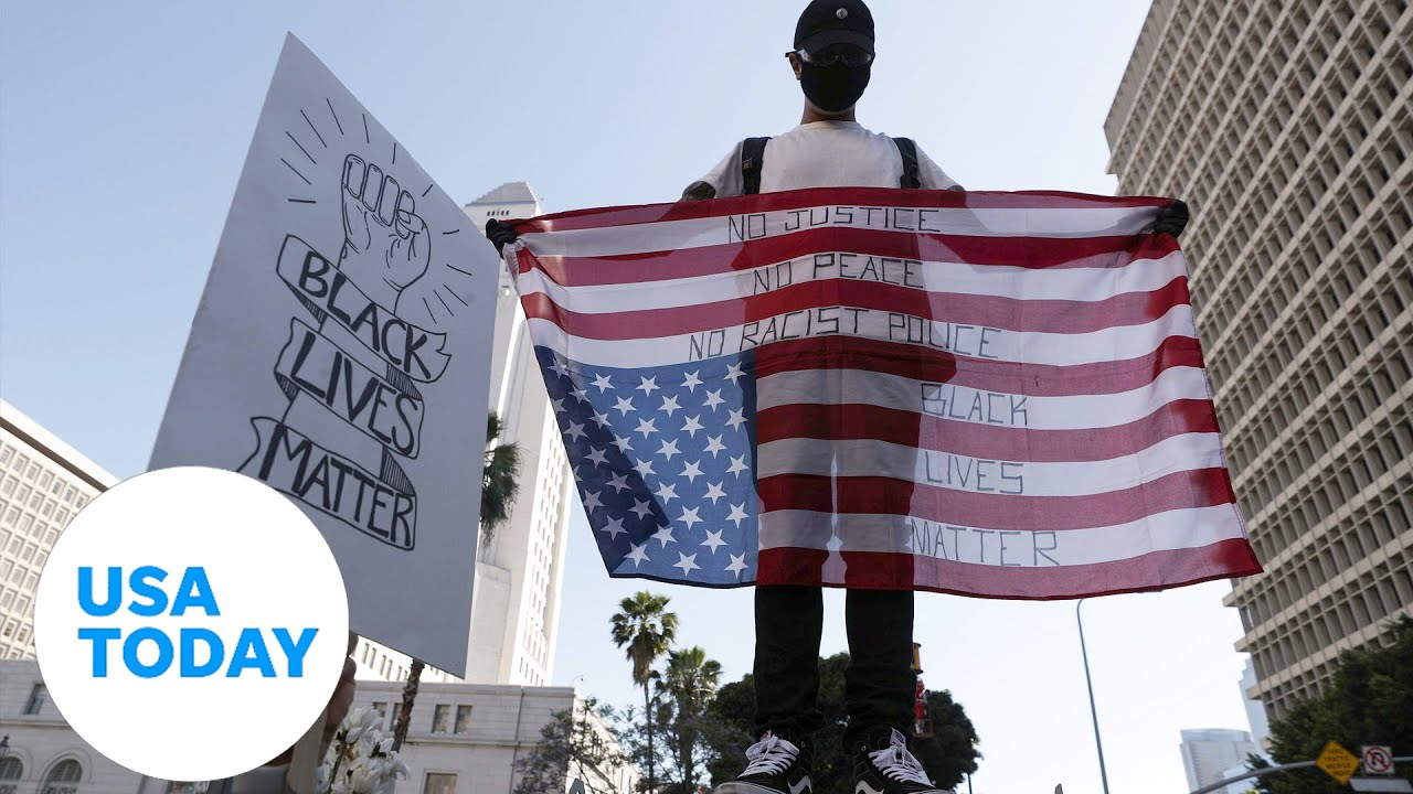 Demonstrations continue on Thursday across the country over George Floyd's death | USA TODAY 6