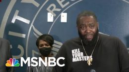 Killer Mike Gives Impassioned Speech On Atlanta Protests | Morning Joe | MSNBC 8