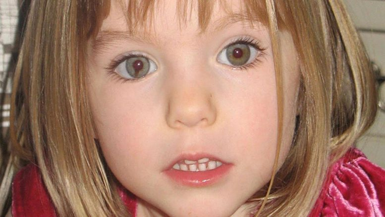 Suspect identified in 2007 disappearance of Madeleine McCann 1