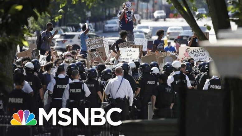 Neal Katyal: Why Do Protesters Get Tear Gas And Trump Gets A Photo Op? | The 11th Hour | MSNBC 1