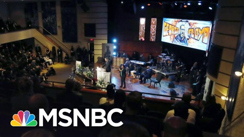 All Black Lives Lost Honored At George Floyd Memorial | The 11th Hour | MSNBC 1