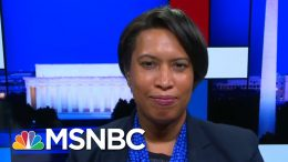 D.C. Mayor On Trump Using Federal Forces In Her City: Who's Next? | Rachel Maddow | MSNBC 8