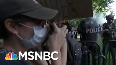 Majority Disapproves Of Trump's Handling Of Response To Floyd's Death: Poll | Morning Joe | MSNBC 6