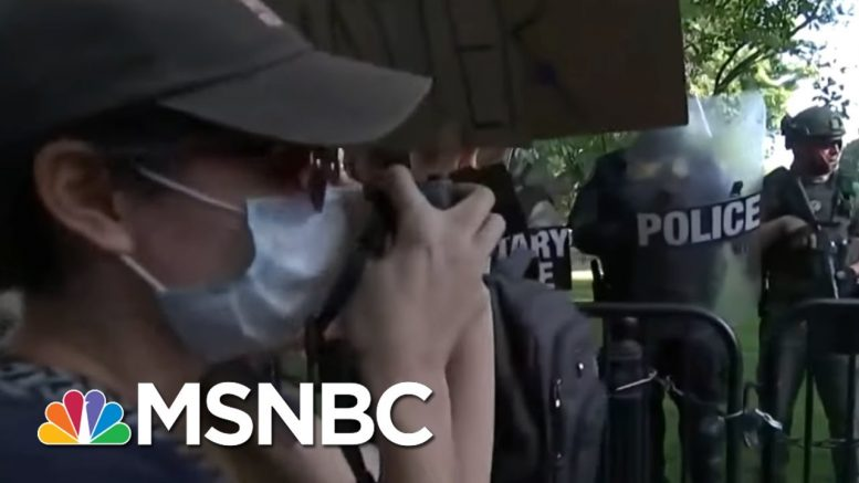 Majority Disapproves Of Trump's Handling Of Response To Floyd's Death: Poll | Morning Joe | MSNBC 1
