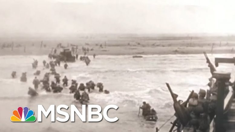 Tom Brokaw Looks Back At 40th Anniversary Of Normandy | Morning Joe | MSNBC 1
