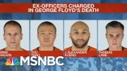 Three Fired Officers Appear In Court In Floyd Case | MSNBC 3