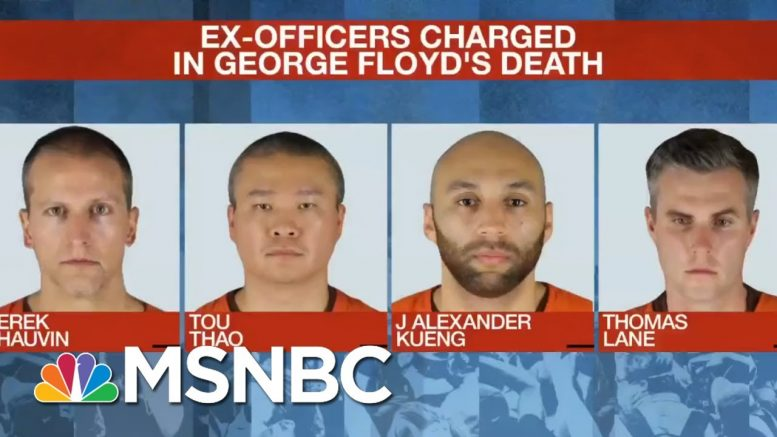 Three Fired Officers Appear In Court In Floyd Case | MSNBC 1