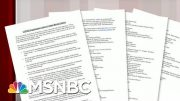 HRC Issues Letter Condemning Racial Violence | Morning Joe | MSNBC 4
