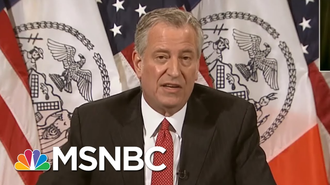 Police Brutality Protest Draw New Police Brutality As Trump Urges 'Domination' | MSNBC 7