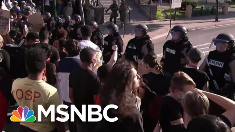 Records Show Minneapolis Police Used Neck Restraint Tactic Dozens Of Times Since 2015 | MSNBC 1