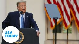 President Trump remarks on unemployment numbers   USA TODAY 5