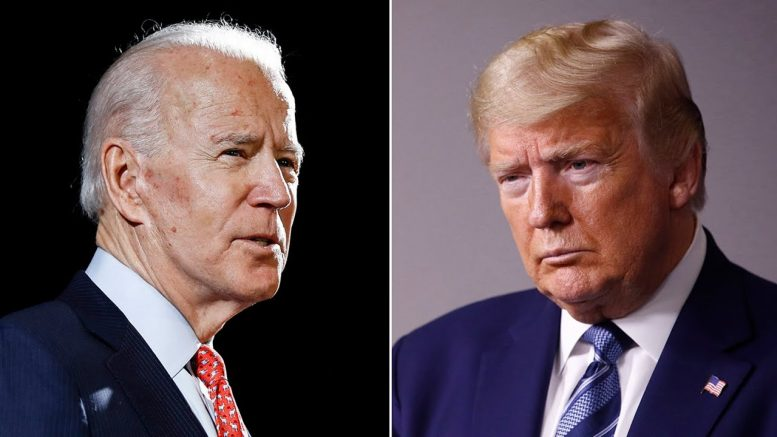 Trump putting words in Floyd's mouth 'despicable': Biden 1