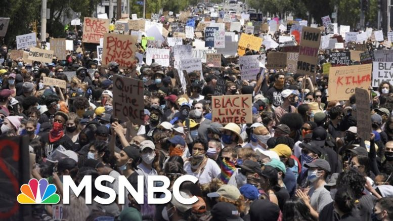 Will Nationwide Protests Cause Spikes In Coronavirus Cases? | The 11th Hour | MSNBC 1