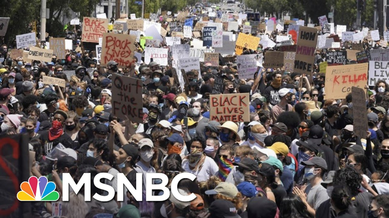 Will Nationwide Protests Cause Spikes In Coronavirus Cases? | The 11th Hour | MSNBC 3