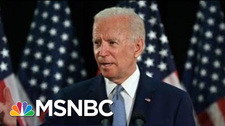 Joe Biden: 'Despicable' For Trump To Say It's A 'Great Day' For George Floyd | The 11th Hour | MSNBC 1