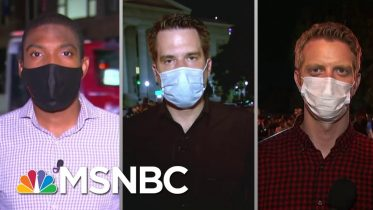 Reporters Share Memorable Moments From An Historic Week In America | The Last Word | MSNBC 6