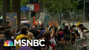Black Lives Matter Co-Founder Says Implementing New Police Policies Is Key | The Last Word | MSNBC 10