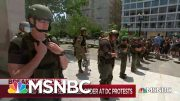 Some of Trump's Unmarked Police Force Traced to Texas Prison | Maddow | MSNBC 5