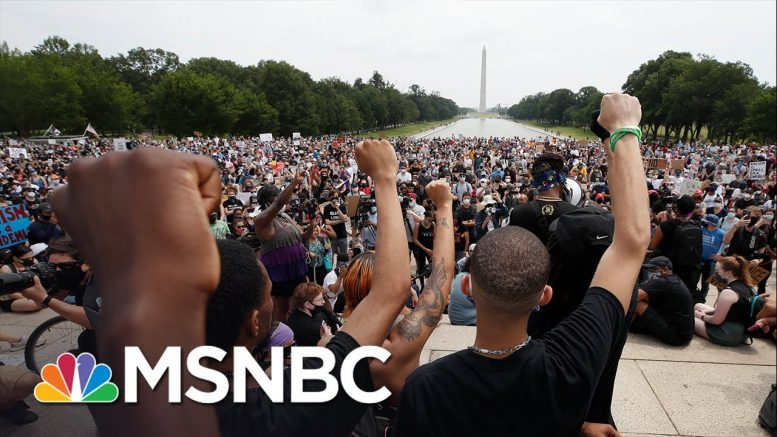 Velshi: None Of Us Are Free While Black Americans Live In Fear | MSNBC 1
