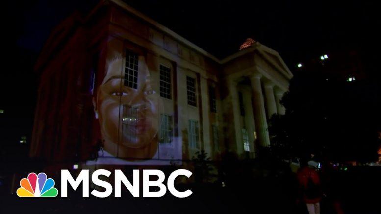 Louisville Artist Creates Projection of Breonna Taylor | MSNBC 1