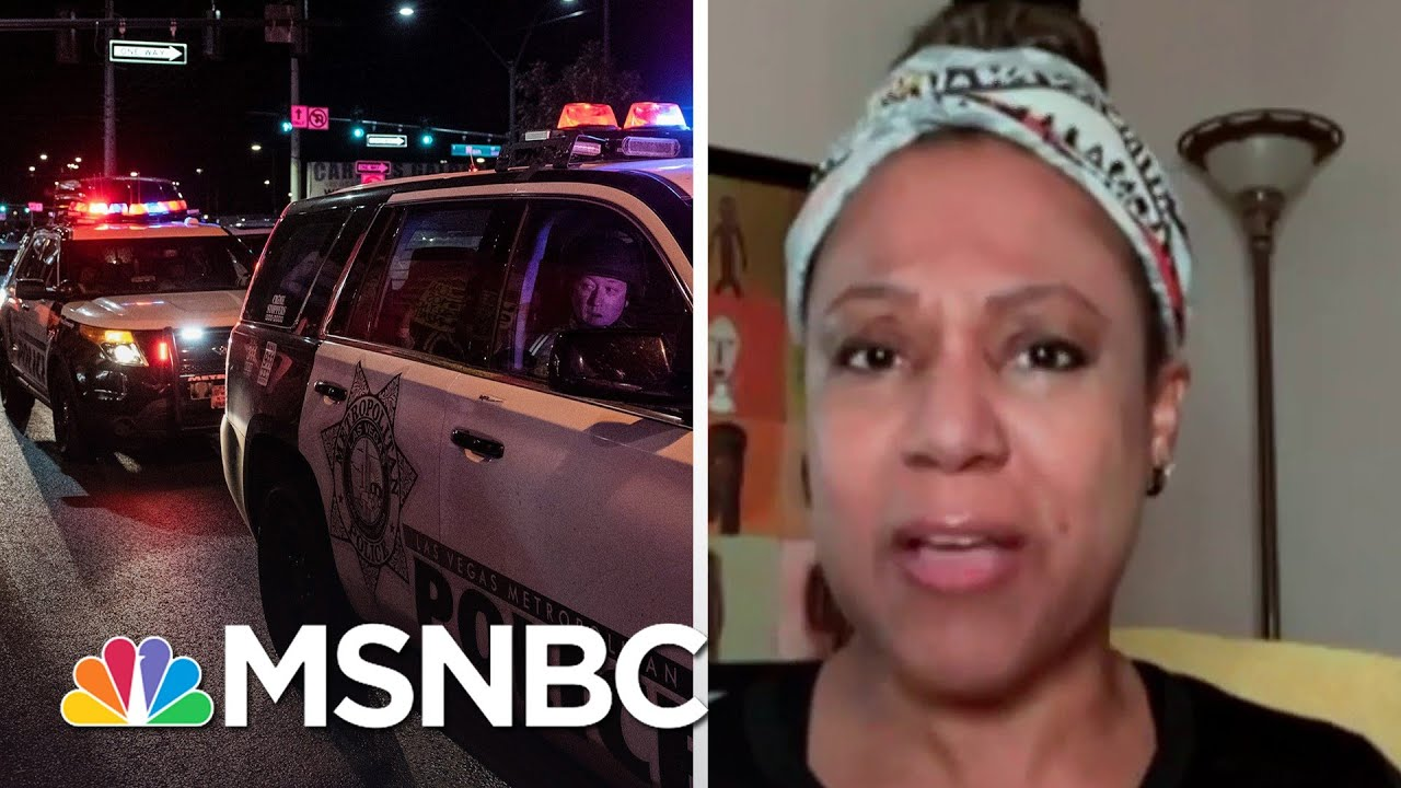 National Black Police Assoc. Chair: It's 'Perfectly Reasonable' To Question Police Budgets | MSNBC 8