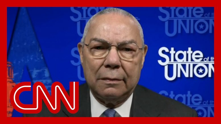 Colin Powell: President Trump has drifted away from the Constitution 1