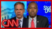 Tapper presses Ben Carson on Trump's retweet about George Floyd 3