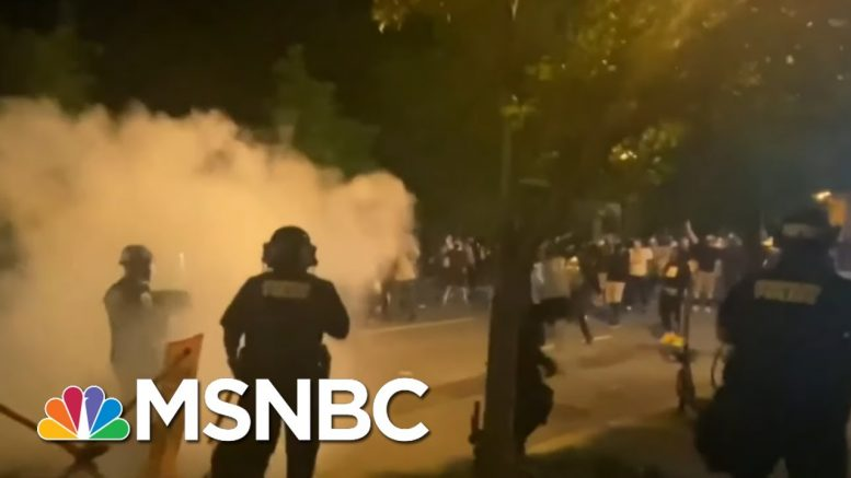 D.C. Mayor Implementing Earlier Curfew As City Wakes Up To Vandalized Buildings | MSNBC 1