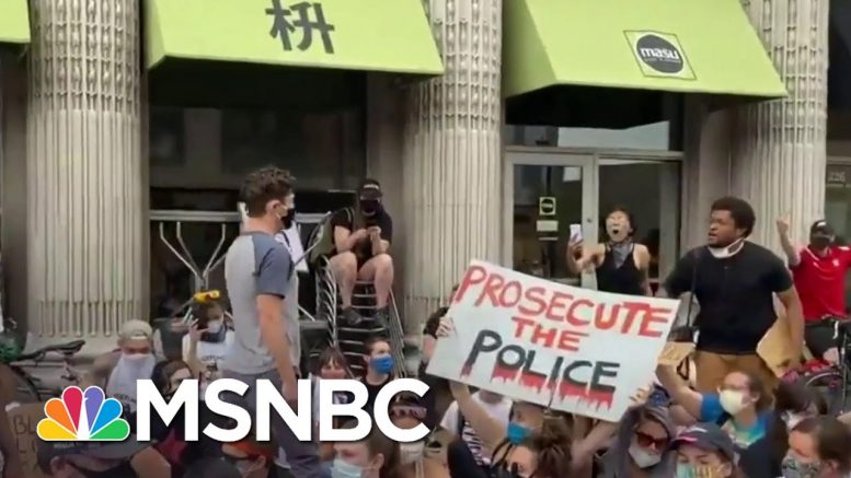 Minneapolis Mayor Booed By Protesters After Refusing To Defund The Police | MSNBC 1