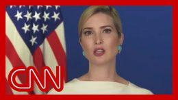 Ivanka Trump blames cancel culture for canceled commencement speech 2
