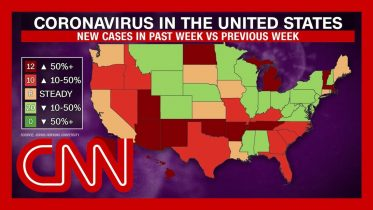 New virus cases on the rise in almost half of US states 1