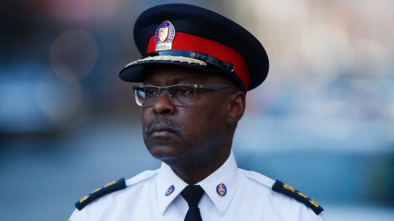 Toronto Police Chief Mark Saunders announces sudden resignation, will step down on July 31 1