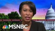 D.C. Mayor On Mural: We Have To Stand Up For Our City And Nation | Morning Joe | MSNBC 4