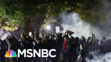 Right In Front Of The WH, Everyday Americans Are 'Asking For Change' | Andrea Mitchell | MSNBC 2