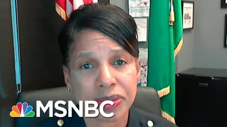 Seattle Police: Protest Shooting Does Not Appear To Be Random Or Accidental | Hallie Jackson | MSNBC 1