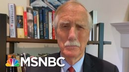Sen. Angus King: D.C. March Was A Moving, Important Experience   Morning Joe   MSNBC 9