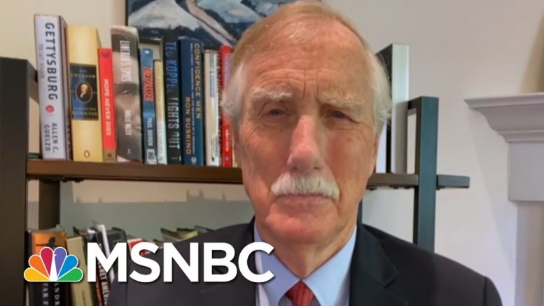 Sen. Angus King: D.C. March Was A Moving, Important Experience | Morning Joe | MSNBC 1