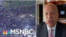 Fmr. DHS Secretary: Law Enforcement Should 'Protect' Demonstrators, 'De-Escalate Situations' 3
